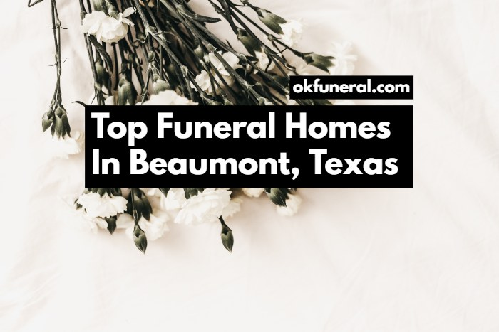 funeral homes in beaumont texas