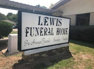 Lewis Funeral Home - Marshall, TX